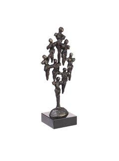 Bronzen beeld Opbouwend
