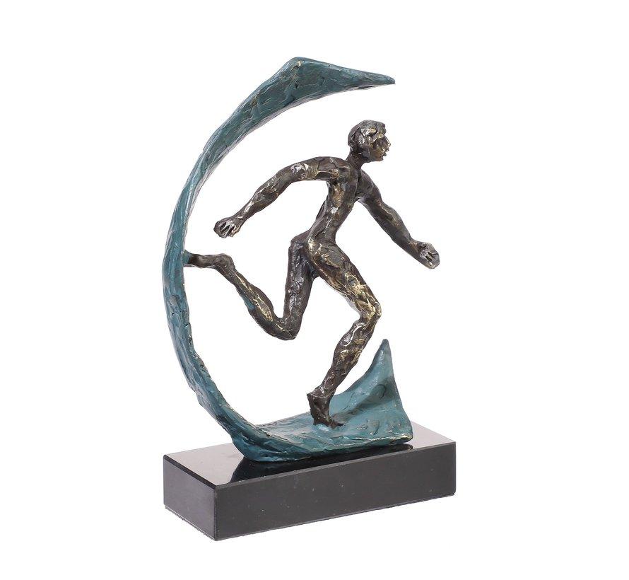 Weg naar succes sculptuur.
