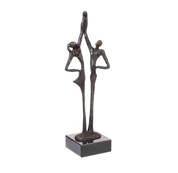 Bronzen beeld De verbintenis