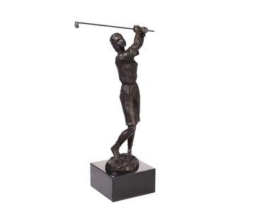Bronzen beeld Golfster