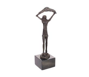 Bronzen Beeld Levensvreugde