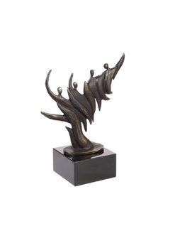 Bronzen Beeld De omwenteling