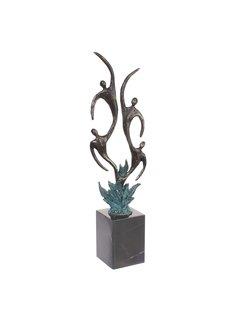 Bronzen beeld Flora
