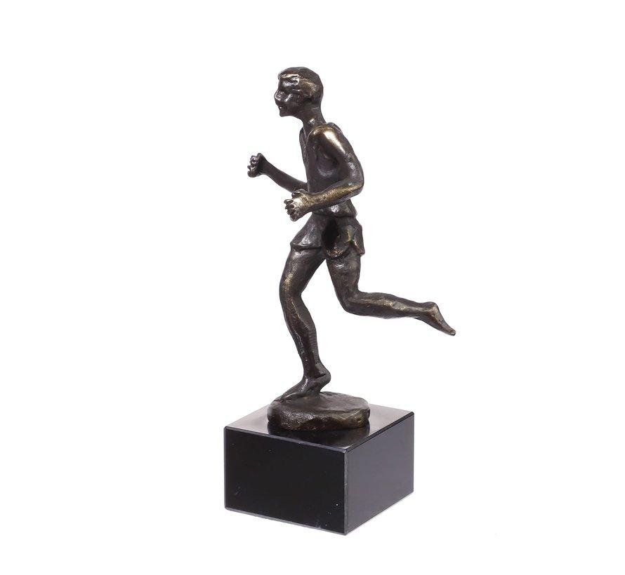 Marathonloper. Beeld/Sculptuur.