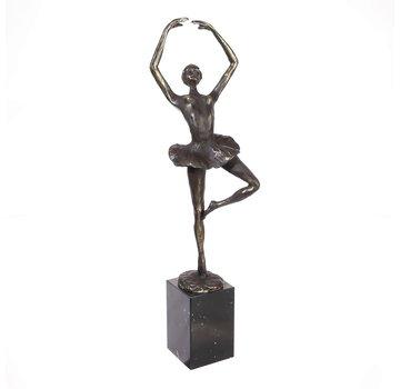 Beeld Danseres Ballerina Beweging in emotie