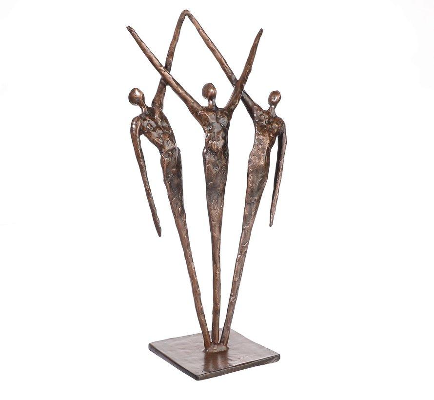 Ger van Tankeren - Samen sculptuur