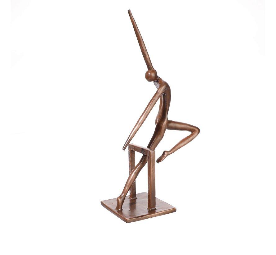 Ger van Tankeren -In beweging  sculptuur