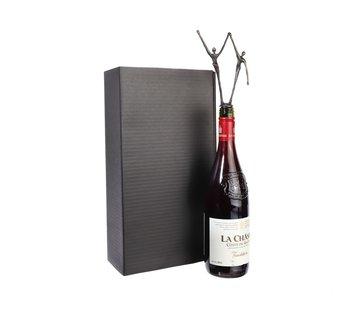 Wijnpakket met beeld Samenwerking in balans