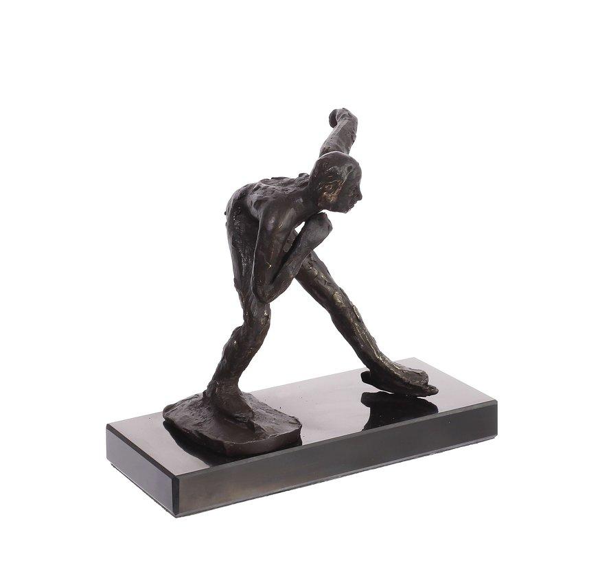 Schaatser sportbeeld/sportprijs.