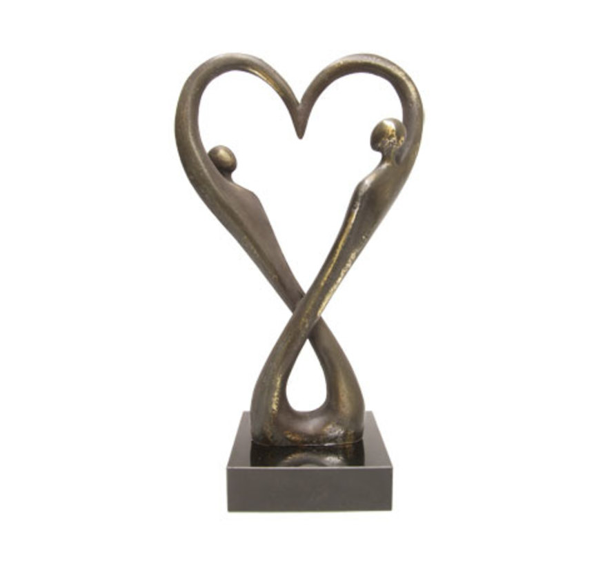 "Liefdes sculptuur ""With Love"""