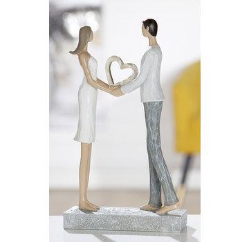 Beeld trouwen klein hart