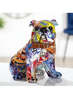 Mopshond beeld Pop-art