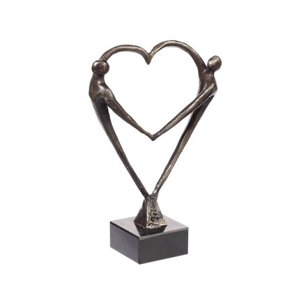 Hartvormige liefdesbeelden.