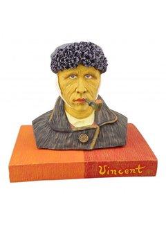 Beeld Vincent van Gogh met pijp