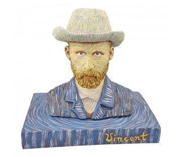 Beeld Vincent van Gogh met hoed