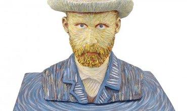 Zelfportret Vincent Van Gogh in beeld