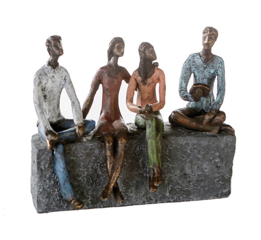 Netwerken sculptuur