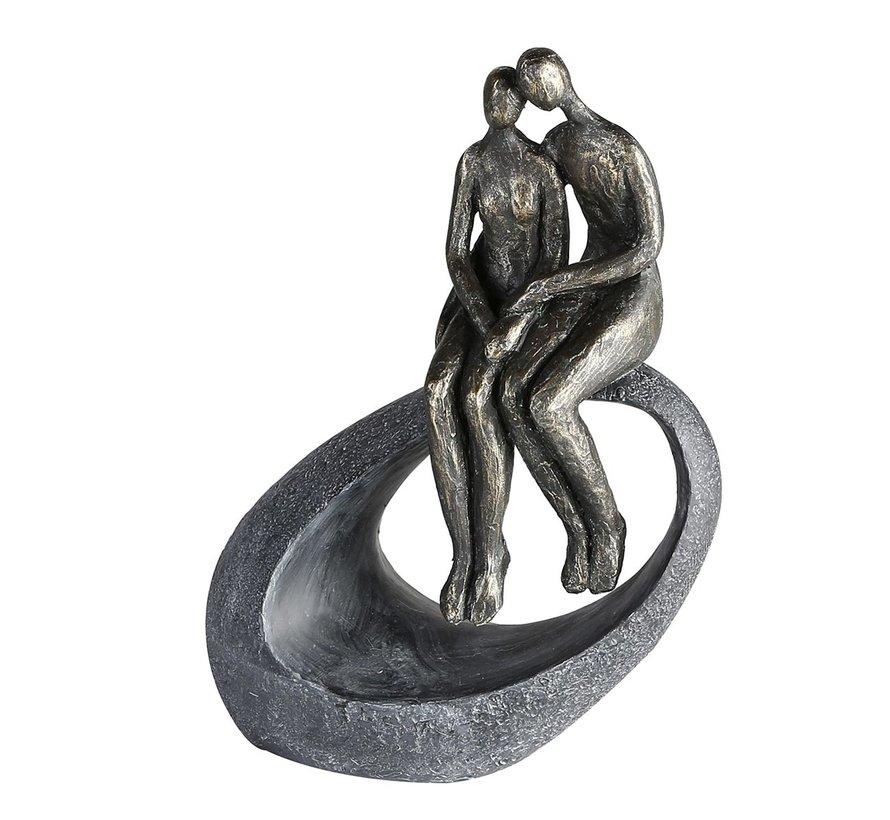 Sculptuur een moment samen