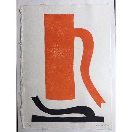Schilderijen en grafiek van Klaas Gubbels bij Kunstpakket