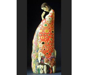 Beeld Hoop II van Klimt