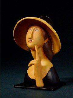 Beeld Jeanne Hébuterne van Modigliani