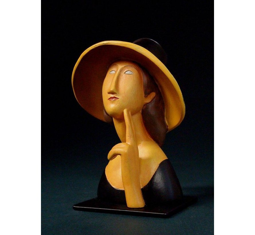 Modigliani beeld Jeanne Hébuterne