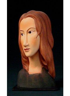 Beeld Jeanne Hébuterne naar Modigliani