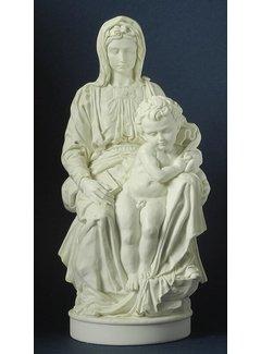 Beeld Madonna van Brugge Michelangelo