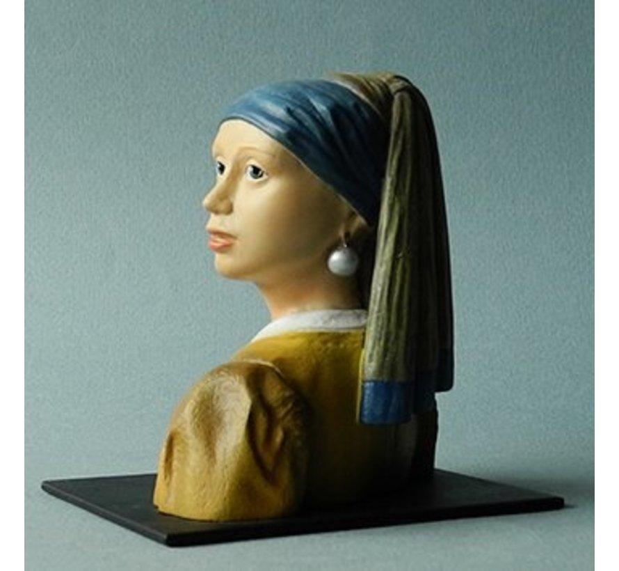 Beeldje Vermeer meisje met de parel
