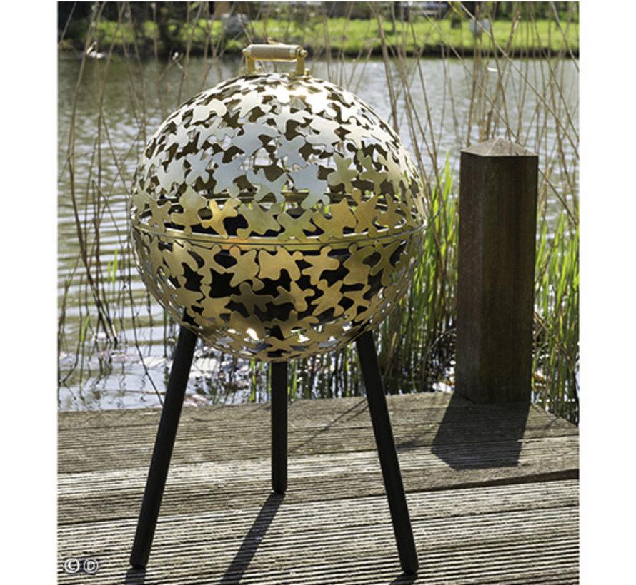 Vuurkorf Feugo Messing 50 cm diameter