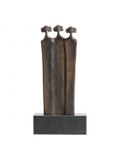Corry Ammerlaan Bronzen beeld de Steunpilaren