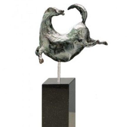 Dieren bronzen beeldjes en moderne sculpturen