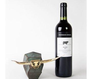 Corry Ammerlaan Beeld Fuerza luxe kurketrekker met wijn