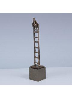 Corry Ammerlaan Bronzen beeld Denkende Mens