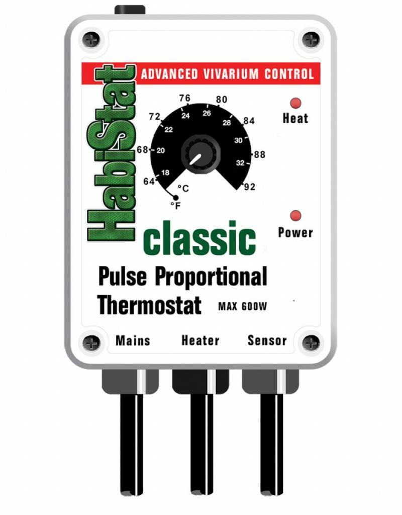 Habistat Pulse Thermostat 600 Watt (White)