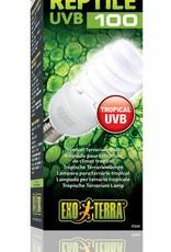 Exo Terra Reptile UVB 100-  E27 - 25Watt Tropical