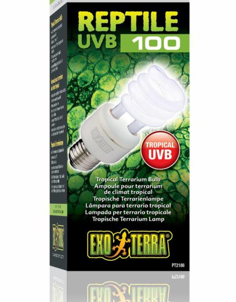 Exo Terra Reptile UVB 100 E27 - Verlichting - 13Watt Tropical