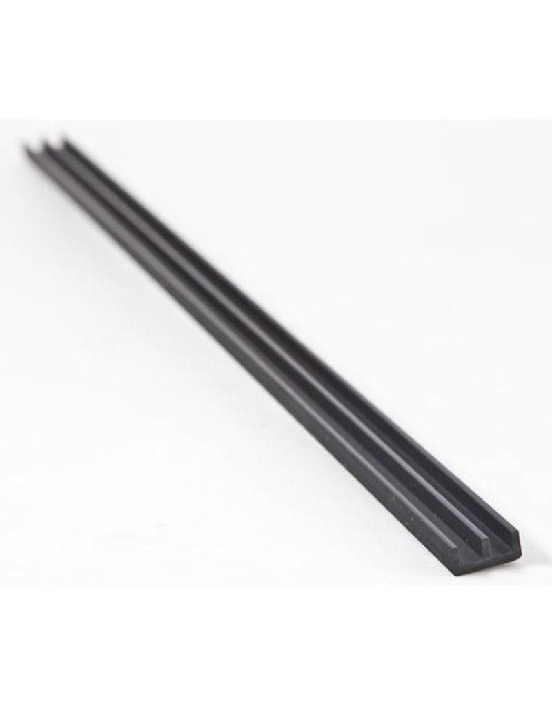 Glass rails 4mm H  - 100cm