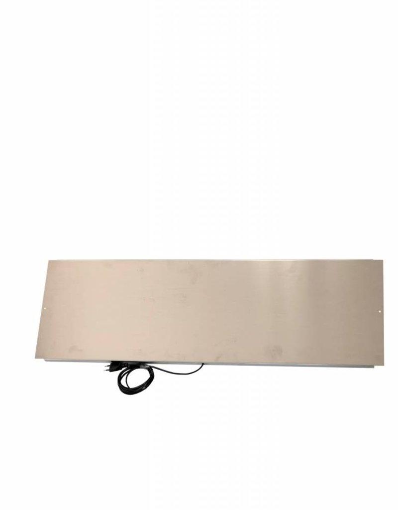 Alu warmte paneel voor V70 rek  2 Tubs 18.5W