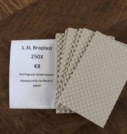 Braplast 1.3L Honeycomb cardboard paper