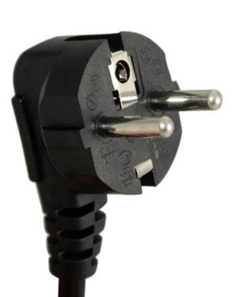 Steckdose mit Schalter 10-fach schwarz 3m