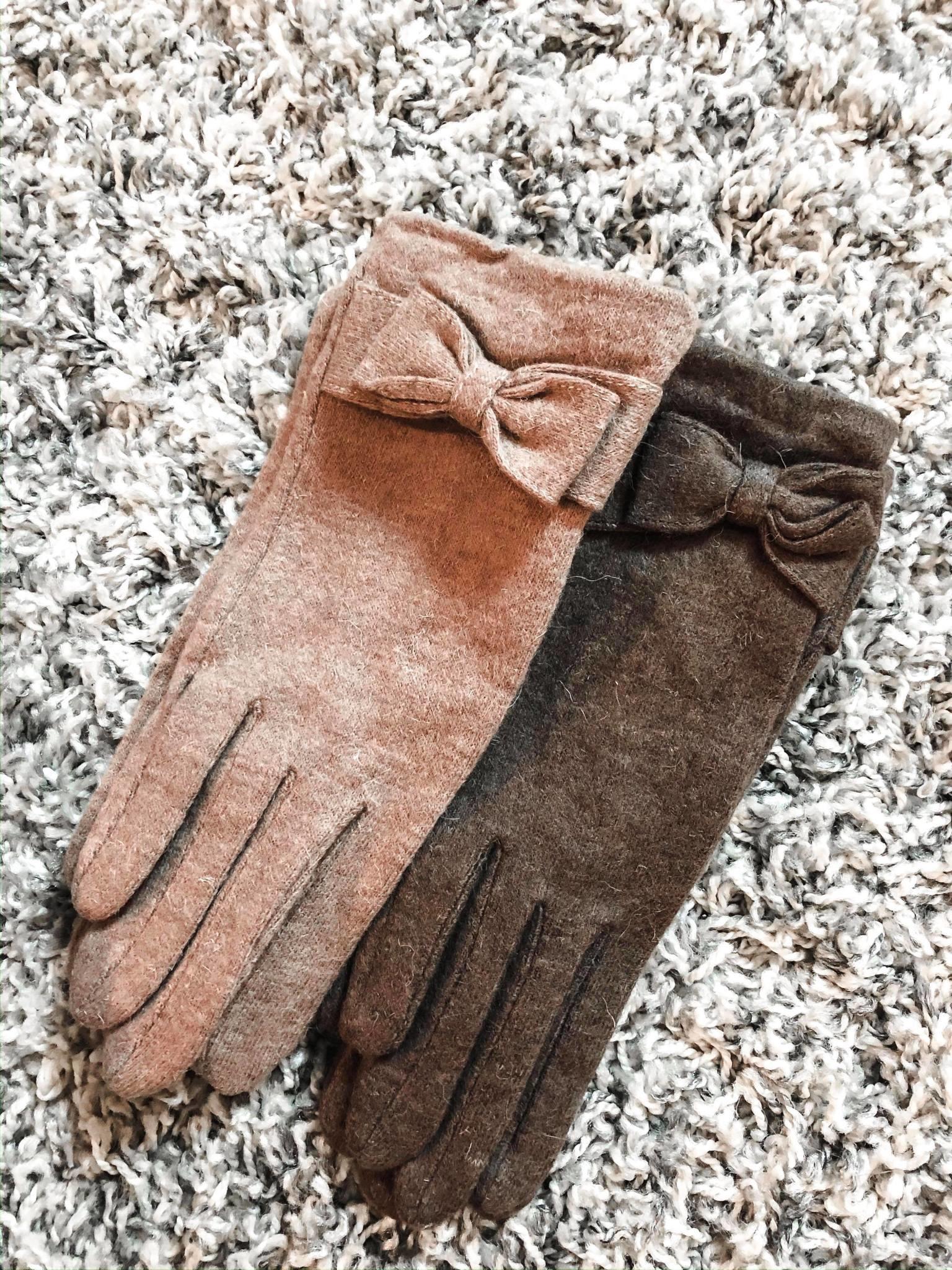 Handschoen strik