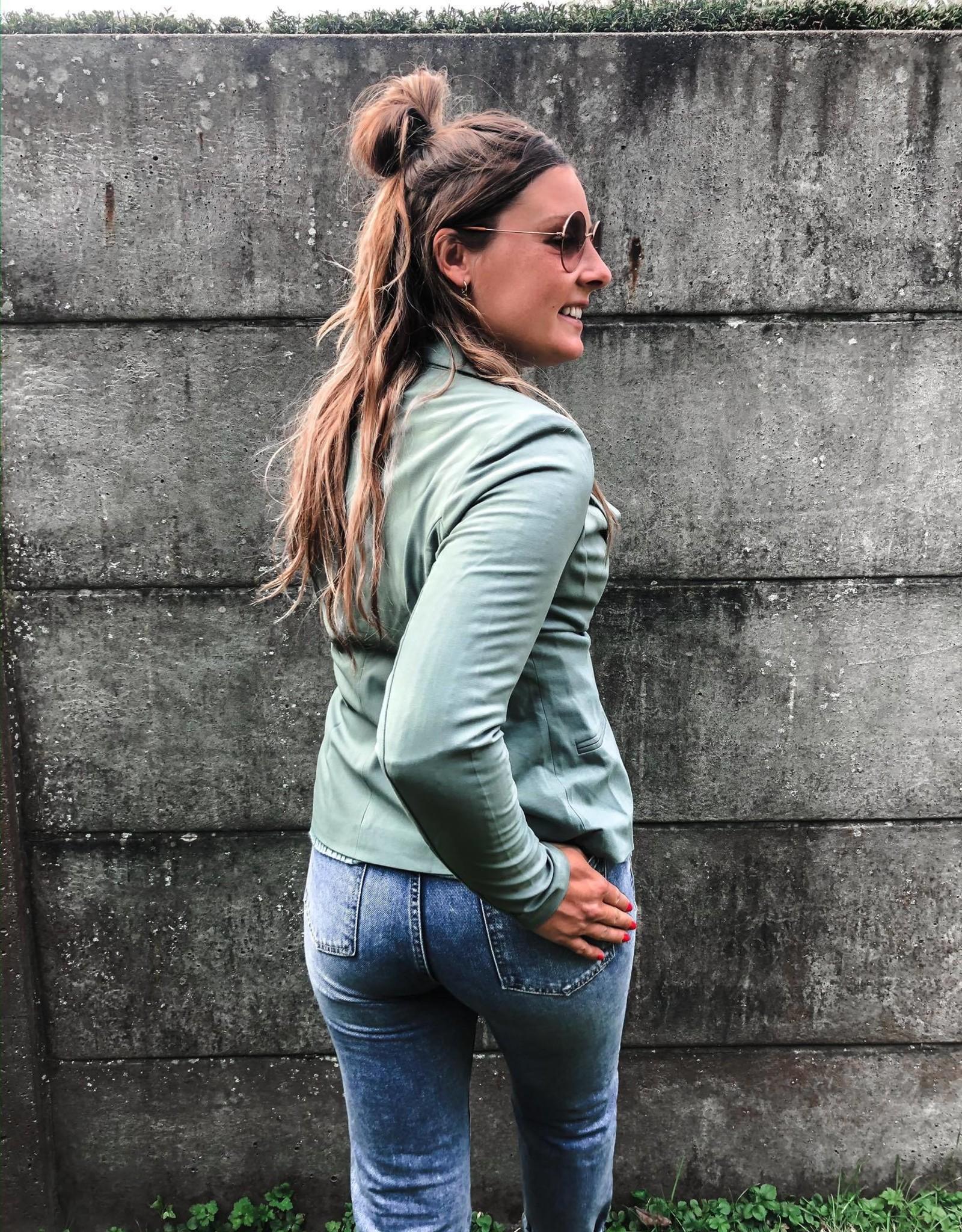 Jillian Blazer dusty jade