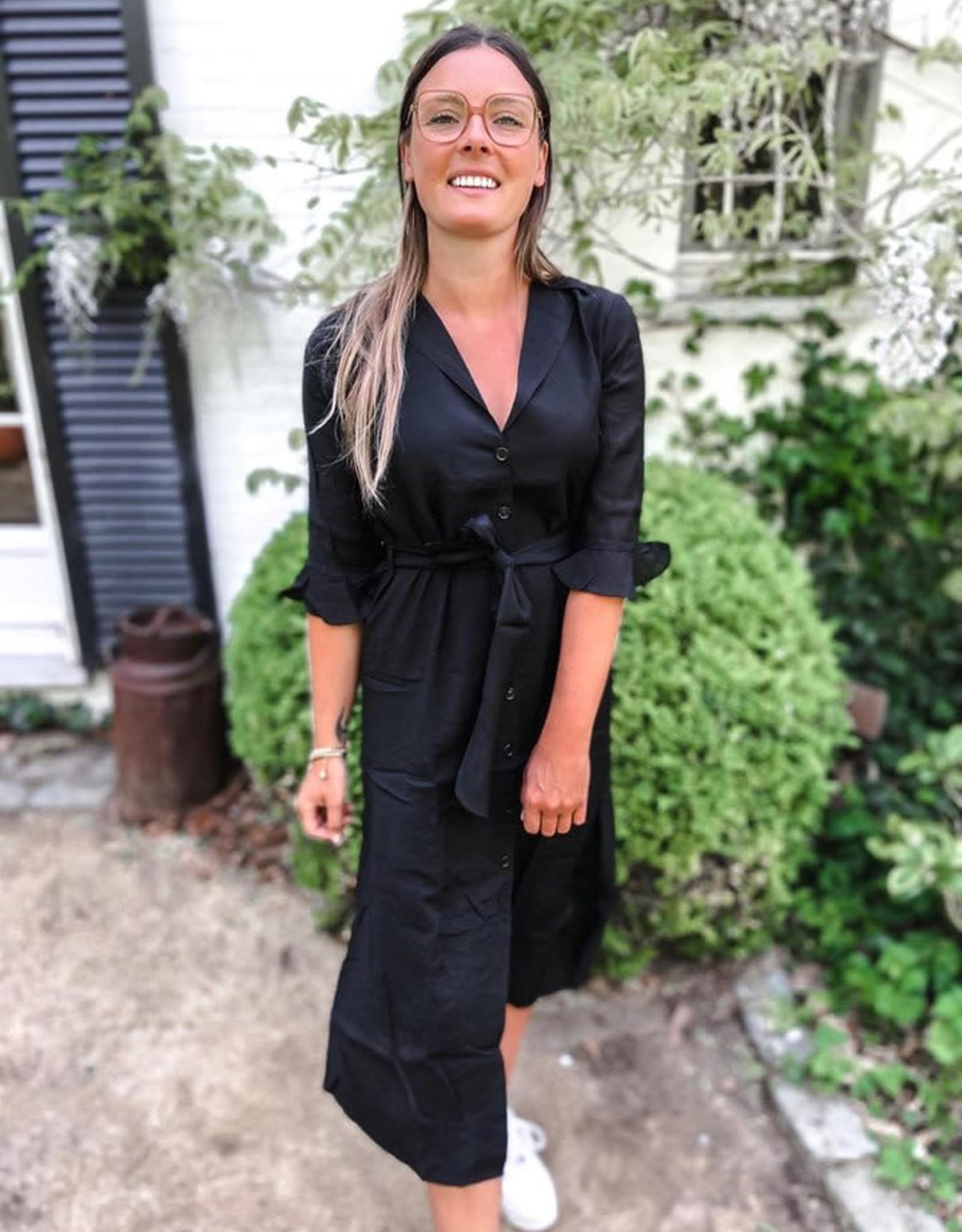 LYONE MID DRESS black