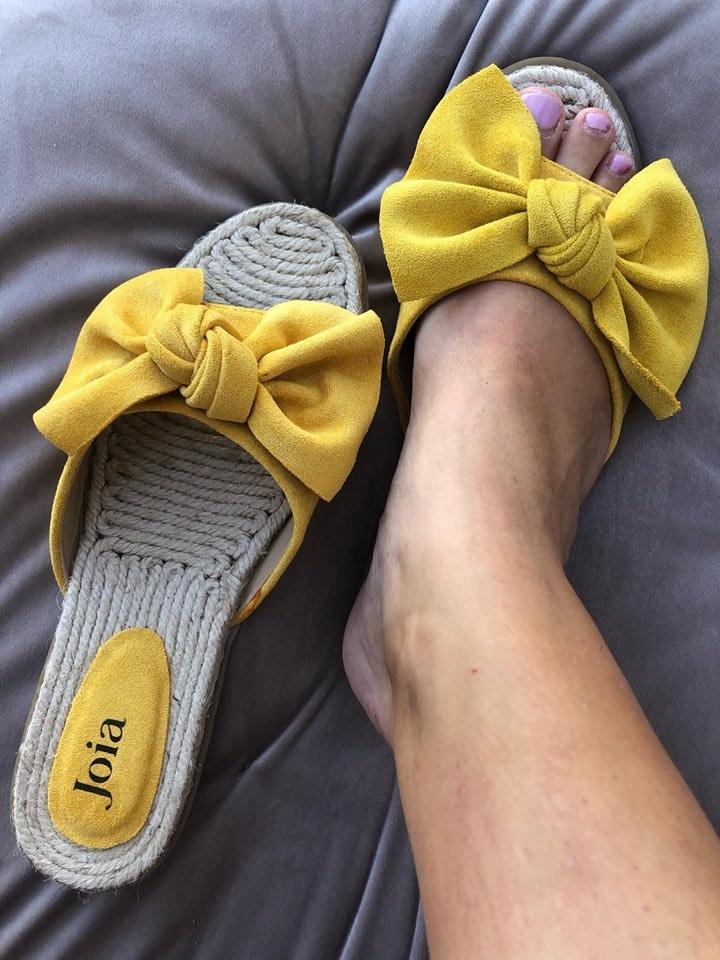 Espadrilles Lot geel