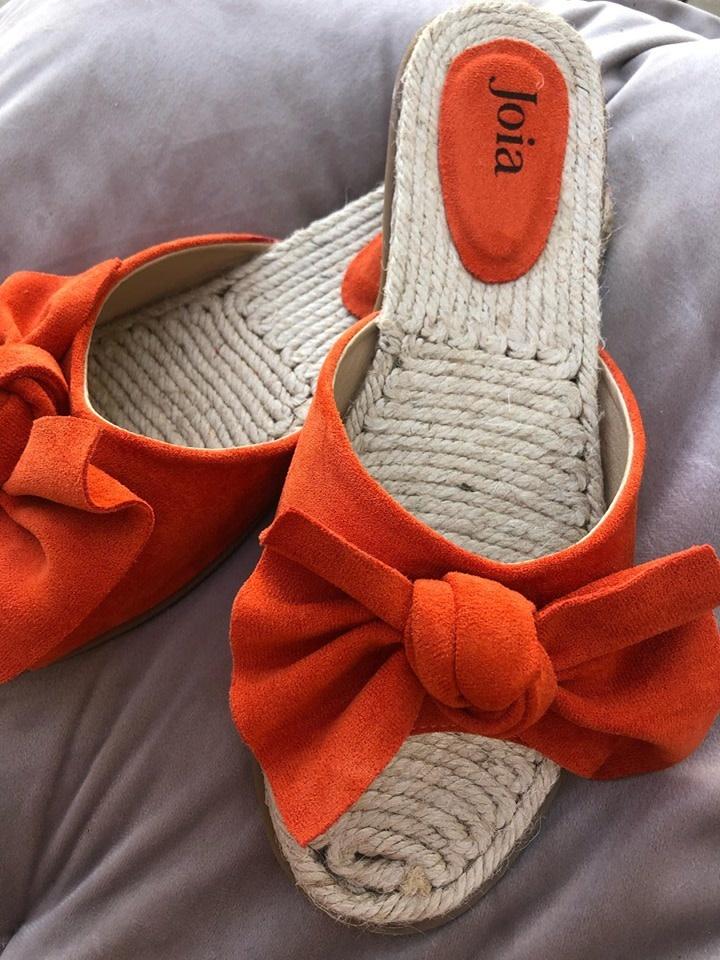 Espadrilles Lot orange