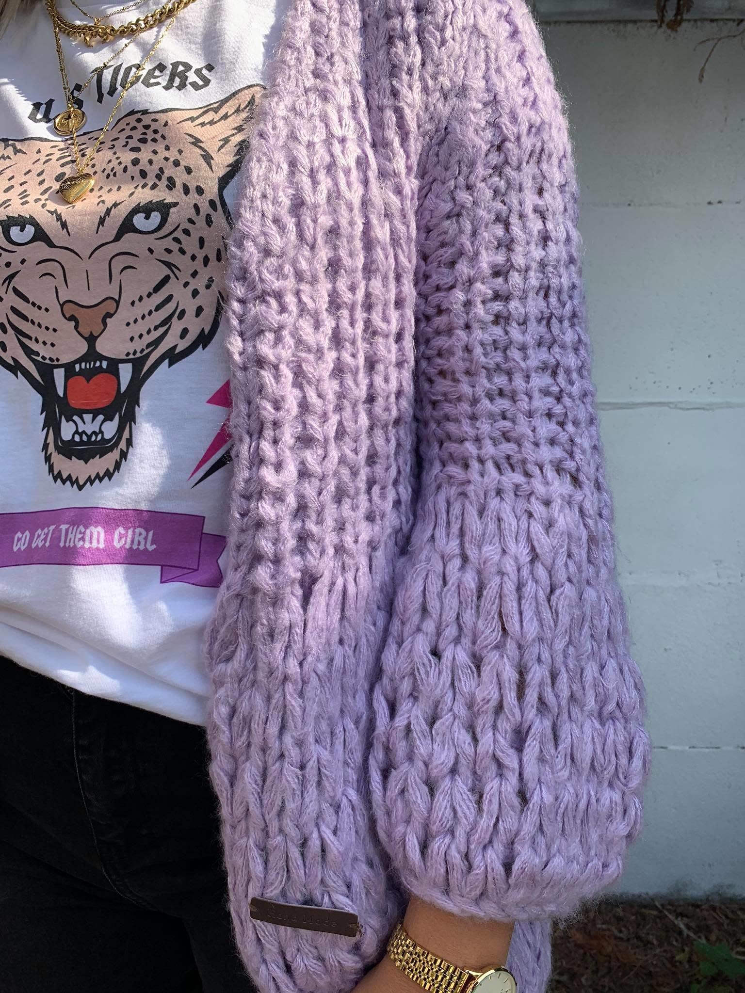 Handmade vest eri lilac