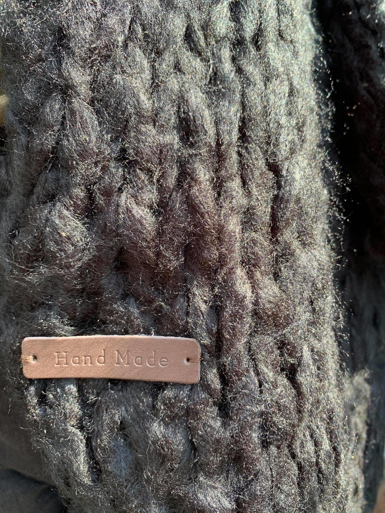 Handmade vest eri zwart