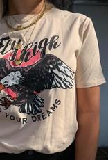 T-shirt fligh beige