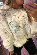 Eline knit gebroken wit TU